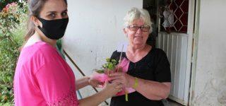 Uma das ações realizadas ao longo do ano: prevenção ao câncer de mama